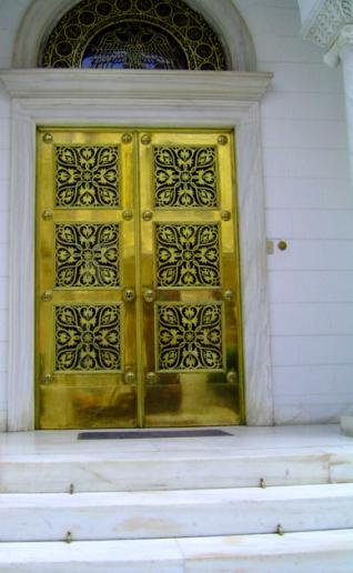 gold-doors